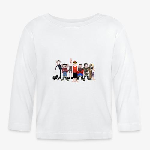 Askeladden og de gode hjelperne - Langarmet baby-T-skjorte