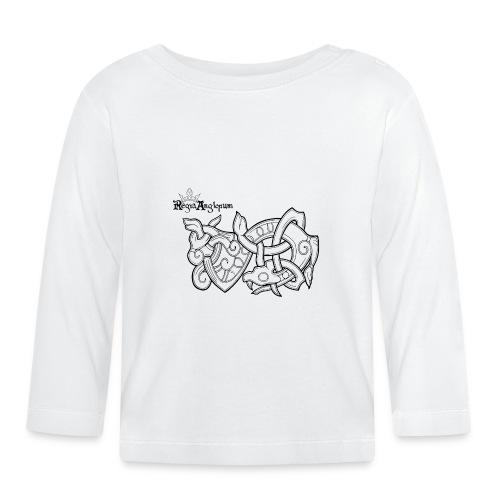 Transparent Worm - Baby Long Sleeve T-Shirt
