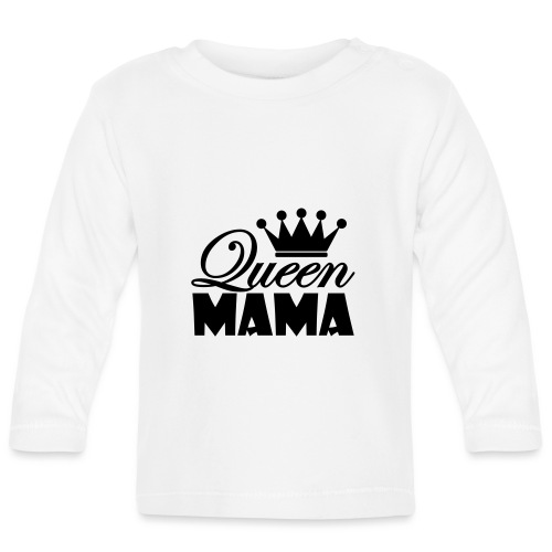 queenmama - Baby Langarmshirt