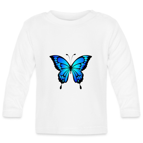 Mariposa - Camiseta manga larga bebé