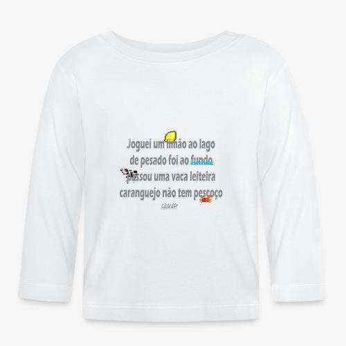 Versinho de infancia - Baby Long Sleeve T-Shirt