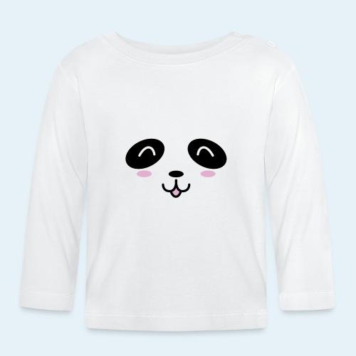 Cachorro panda (Cachorros) - Camiseta manga larga bebé