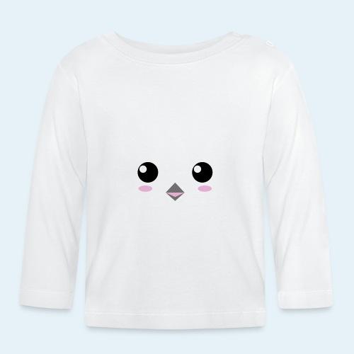 Pingüino bebé (Cachorros) - Camiseta manga larga bebé