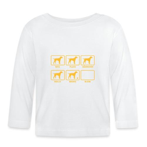 Für alle Hundebesitzer mit Humor - Baby Langarmshirt