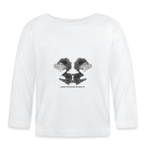 Tintenklecks-Dreams 9177 Motiv Seite 86, b&w - Baby Langarmshirt