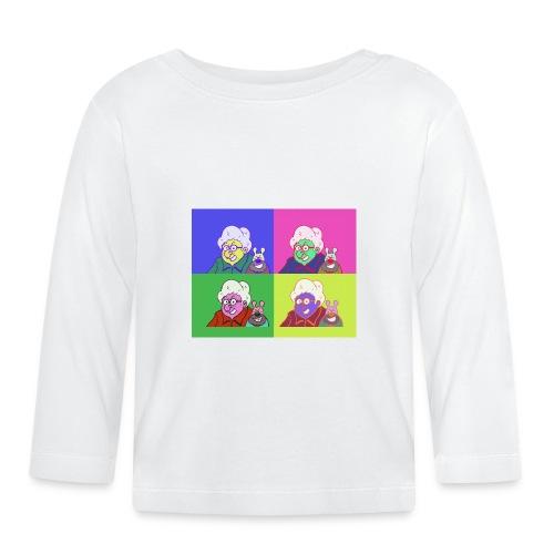 Polete facon warhol - T-shirt manches longues Bébé