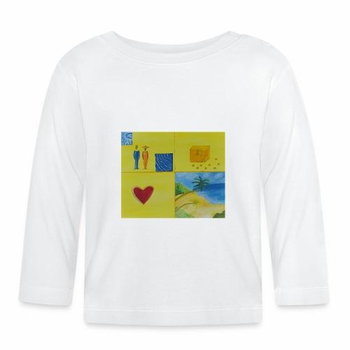 Viererwunsch - Baby Langarmshirt