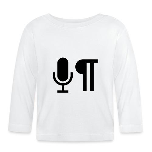Logo der Shownot.es (@DieShownotes) - Baby Langarmshirt