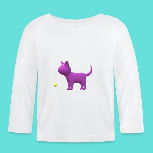 chat - T-shirt manches longues Bébé