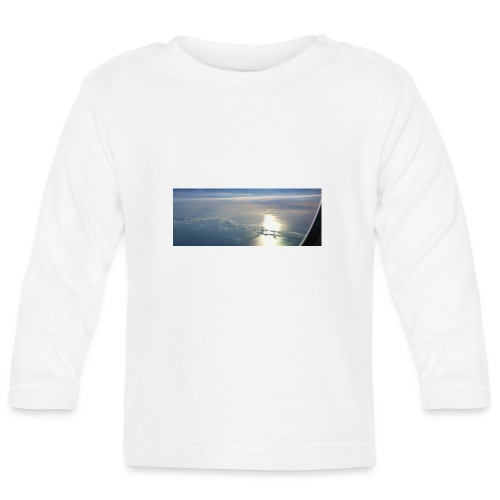 Flugzeug Himmel Wolken Australien - 3. Motiv - Baby Langarmshirt