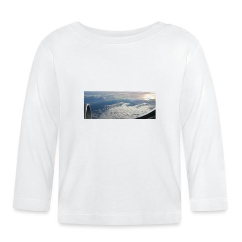 Flugzeug Himmel Wolken Australien - 2. Motiv - Baby Langarmshirt