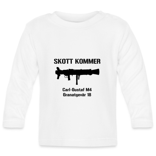 Skott Kommer CGM4 - Långärmad T-shirt baby