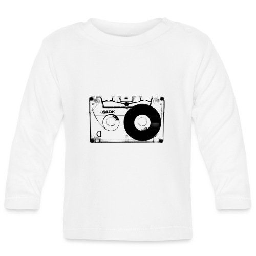 Kassette Audio Retro Vintage Shirt Geschenk - Baby Langarmshirt