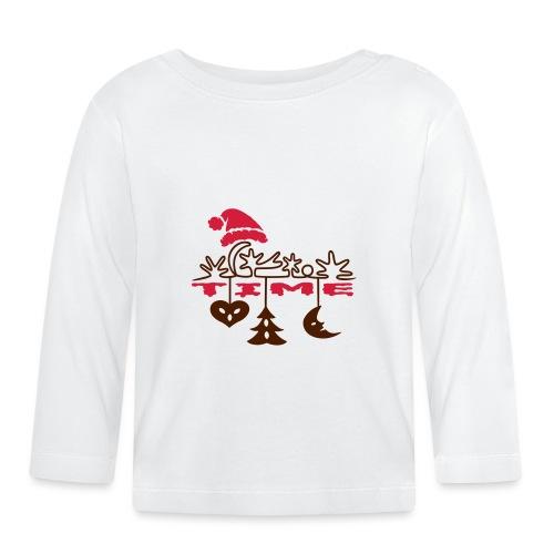 Weihnachten - Baby Langarmshirt
