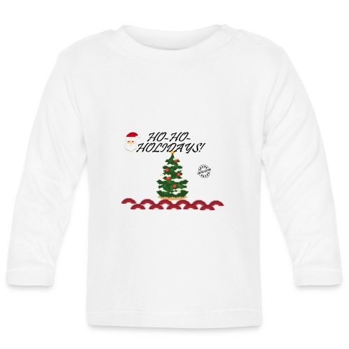 CHRISTMAS - Camiseta manga larga bebé