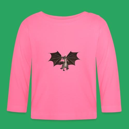 dragon logo color - Maglietta a manica lunga per bambini