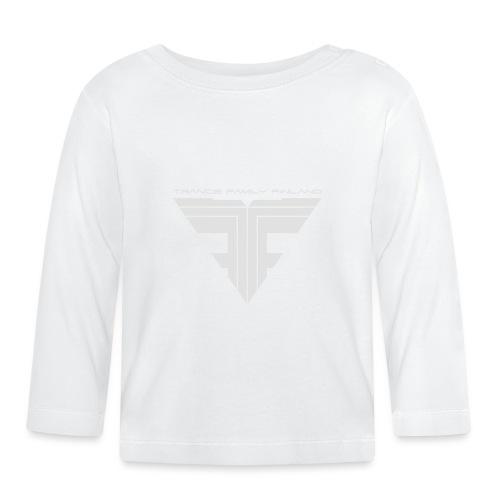 TFF Logo White - Vauvan pitkähihainen paita