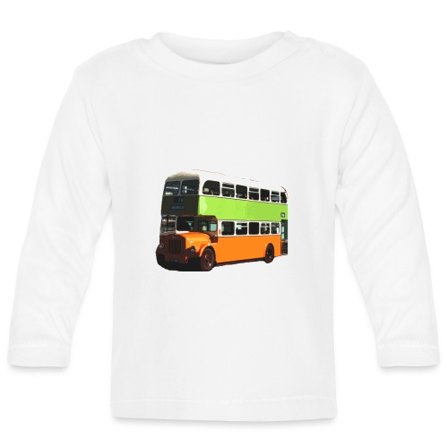 Glasgow Corporation Bus - Baby Long Sleeve T-Shirt