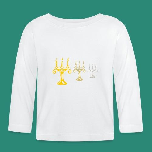 edles Kerzenlicht - Baby Langarmshirt