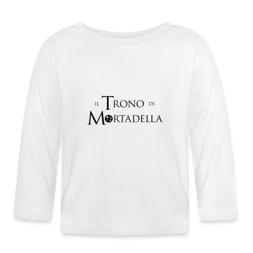 Grembiule Il Trono di Mortadella - Maglietta a manica lunga per bambini