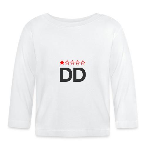 Dårligdommerne simpelt logo - Langærmet babyshirt