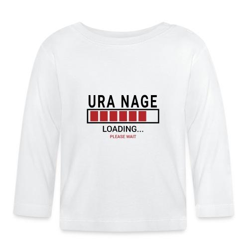 Uranaga Loading... Pleas Wait - Koszulka niemowlęca z długim rękawem