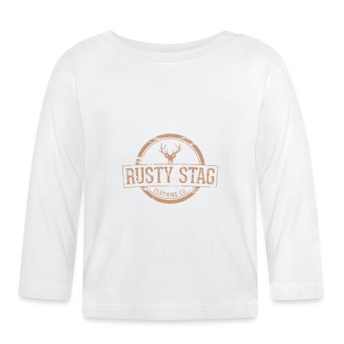 Rusty Stag Badge Tee - Baby Long Sleeve T-Shirt