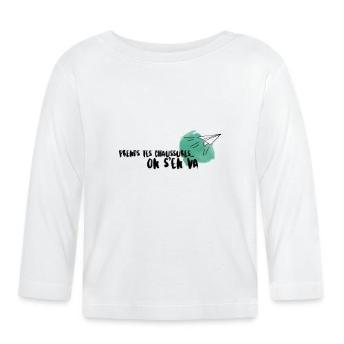 test - T-shirt manches longues Bébé