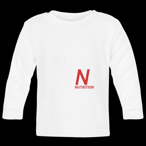 Climax Nutrition Logo - Baby Long Sleeve T-Shirt