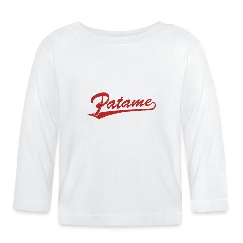 Patame Logo - Baby Langarmshirt