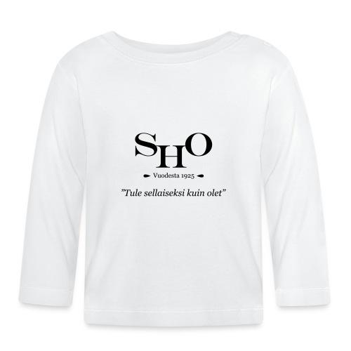 SHO - Tule sellaiseksi kuin olet - Vauvan pitkähihainen paita