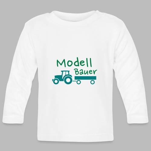Modellbauer - Modell Bauer - Baby Langarmshirt
