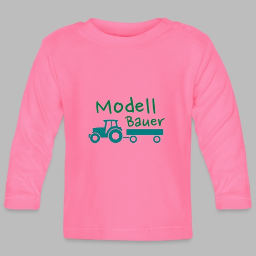 Modellbauer - Modell Bauer - Baby Langarmshirt