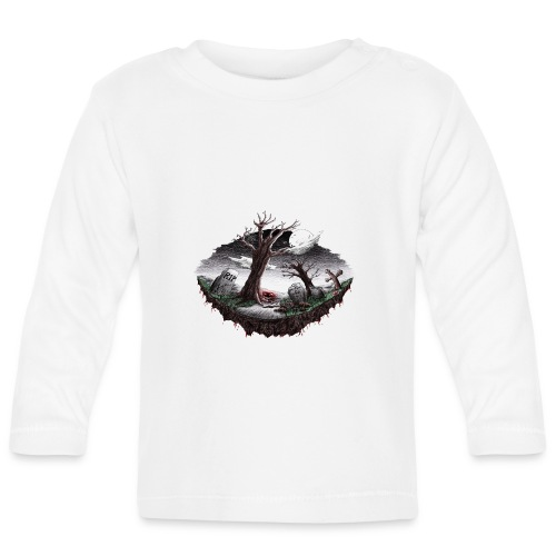 Horrorcontest scribblesirii - Baby Long Sleeve T-Shirt
