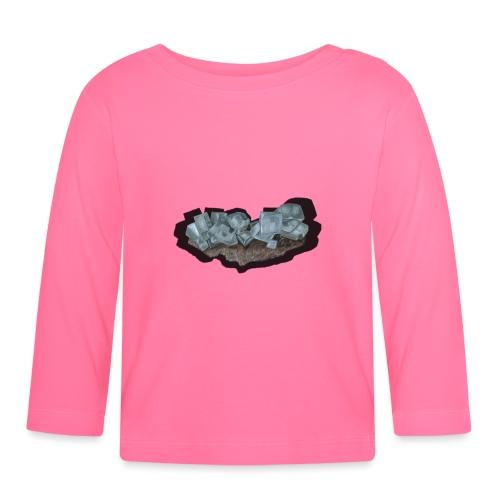 Halit-Kristallstufe - Baby Langarmshirt