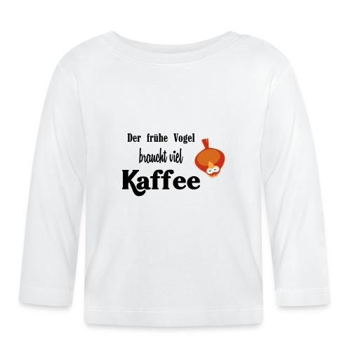 kaffeeVogel.png - Baby Langarmshirt