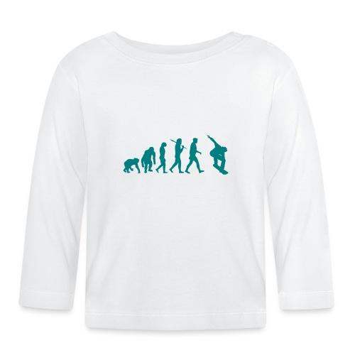 evolution_of_snowboarding - T-shirt