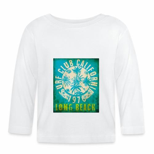 Long Beach Surf Club California 1976 Gift Idea - Baby Long Sleeve T-Shirt