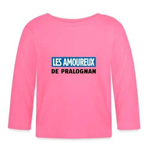 les amoureux de pralognan texte - T-shirt manches longues Bébé