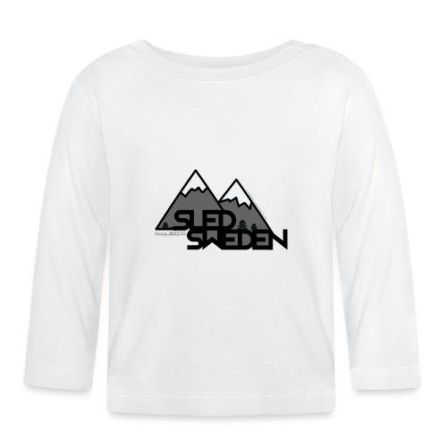 SledSweden Logo - Långärmad T-shirt baby
