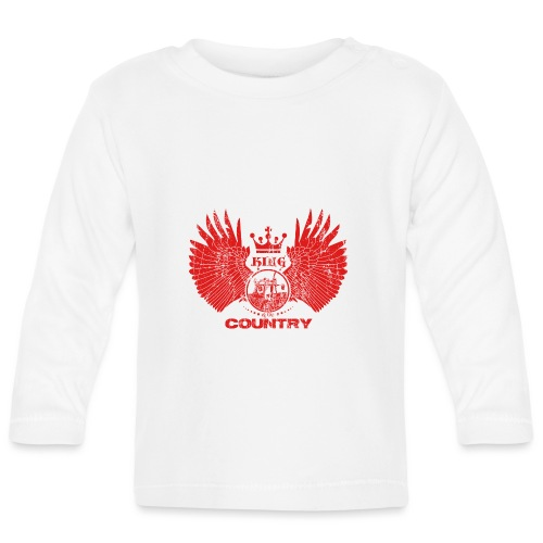 IH KING of the COUNTRY (Red design) - T-shirt
