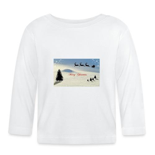 Hyvää joulua - Vauvan pitkähihainen paita