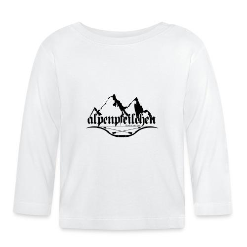 Alpenpfeilchen - Logo - Baby Langarmshirt