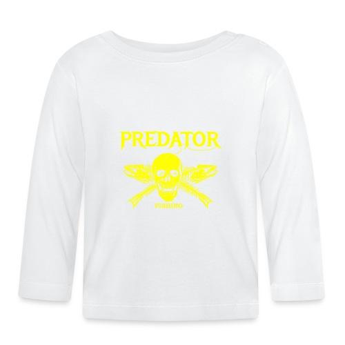 Predator fishing yellow - Baby Langarmshirt