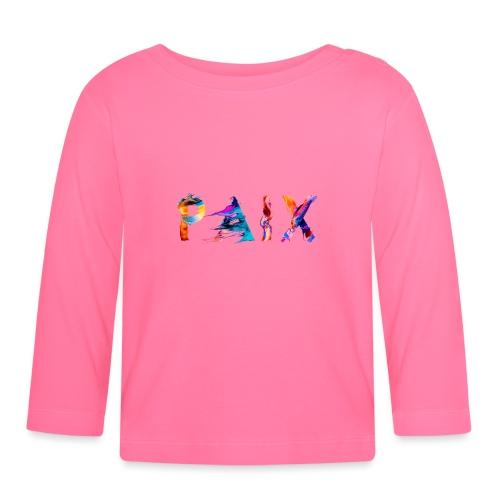 Paix - T-shirt manches longues Bébé