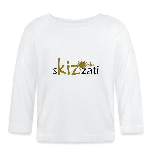 Beanie in jersey con logo sKizzati Kizomba - Verde - Maglietta a manica lunga per bambini