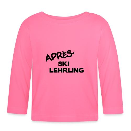 Après Ski Lehrling, Winter Shirt - Baby Langarmshirt