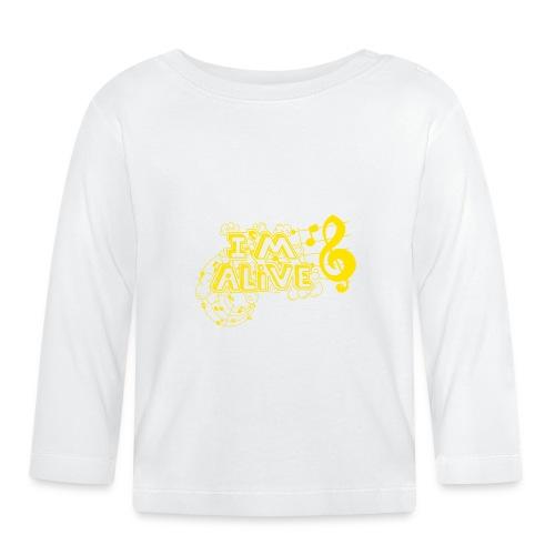 i m alive geel png - T-shirt