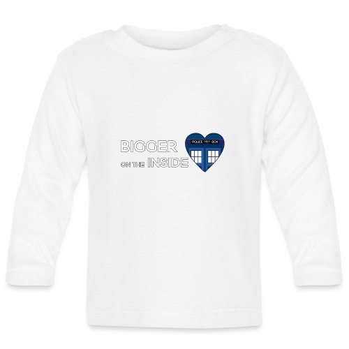 Tardis Heart - Baby Long Sleeve T-Shirt