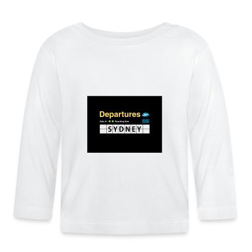 SYDNEY png - Maglietta a manica lunga per bambini